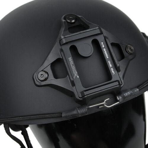 TMC-18AF Hunting Tactical AF Helmet With Shroud Airsoft No Mark Ver BK//RG