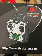 Flysky FS-T6 2.4GHz 6CH Transmitter Radio *Note Receiver Pictures & description