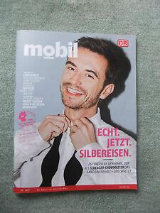 mobil 3/2017 DB Magazin der Deutschen Bahn, Florian Silbereisen, Schlager, ... - <span itemprop='availableAtOrFrom'>Berlin, Deutschland</span> - mobil 3/2017 DB Magazin der Deutschen Bahn, Florian Silbereisen, Schlager, ... - Berlin, Deutschland