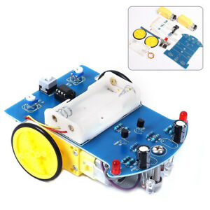 Line-Smart-Car-Kit-Electronic-Parts-Intelligent-Tracking-DIY-Motor-Wheel-Suite