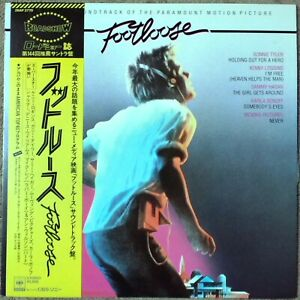 "1984 ""NM WAX"" OST Footloose 28AP 2770 Japan Kenny Loggins Bonnie Tyler"