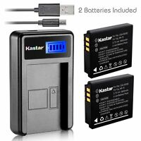 Kastar Battery And Lcd Slim Usb Charger For Fujifilm Np-70 Finepix F20 F47fd F45