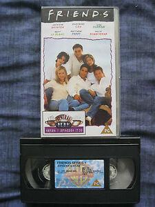 FRIENDS-SERIES-1-EPISODES-17-20-VHS-VIDEO-EAN-5014780150799-Cert-PG