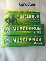 2 Pack Muscle Rub Pain Relief Cream 1.25 Oz Generic Of Bengay Muscle Back Pain.