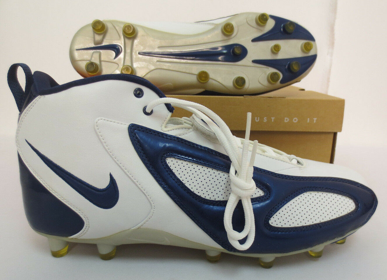 BLADE TD SIZE 14 FOOTBALL CLEATS NIKE 308363 141 NEW PRACTICE GAME SPORTS SHOES