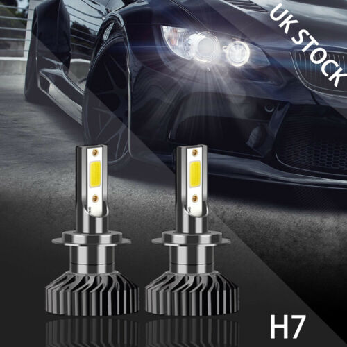 FOR Mercedes W164 M ML 100W H7 CANBUS LED HID XENON CONVERSION KIT NO ERROR LOW