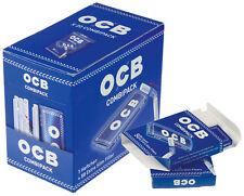 OCB Azul Combipack 50 Hojas + 50 Filtro / 20 (Folletos, Papel, papel)