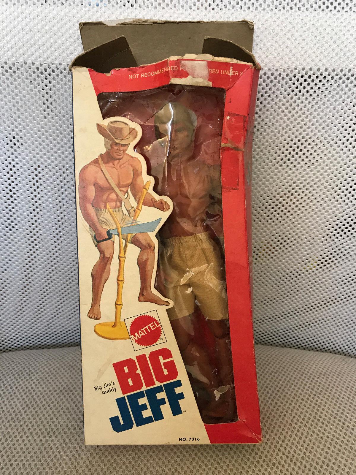 MIB MOC NYA Big JM MATEL BIG JEFF SAKNAR CAP PÅ TOP