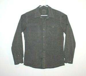 Kathmandu-Grey-Slim-Fit-Long-Sleeve-Shirt-Size-Men-039-s-Small