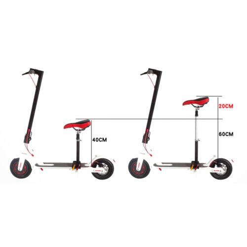 Universal Sattelkissen Sattel Elektroroller Sitz Für Electric Scooter Sättel DE
