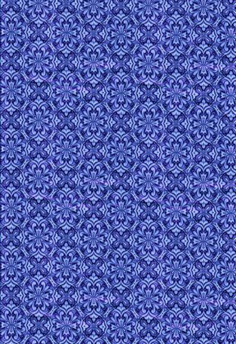dolls house wallpaper blue