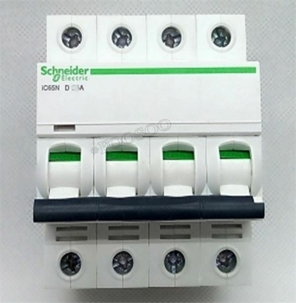 Schneider Small IC65N 4P D32A Air Circuit Breaker Switch Brand New ab