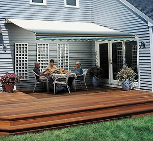 11-FT VISTA Retractable Awning by SunSetter Awnings Shade ...