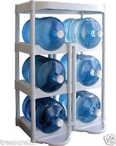 Water Bottle Storage 5 Gallon Buddy Rack Shelf System Home Office