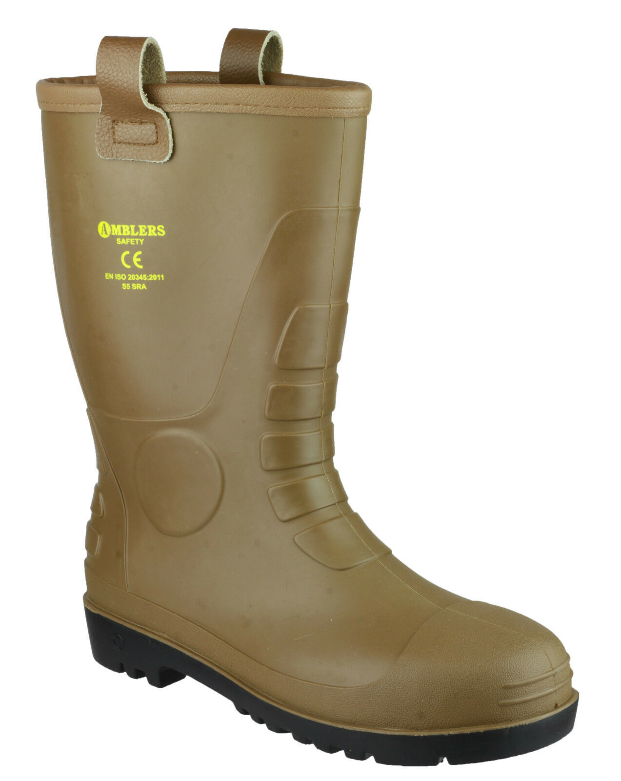 Amblers FS95 Rigger Safety Waterproof Mens Steel Toe Cap Industrial Boots UK4-12