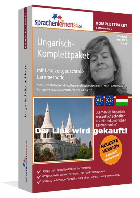 Ungarisch lernen mit dem Komplett-Paket ! von Sprachenlernen24 ! Superpreis ++++