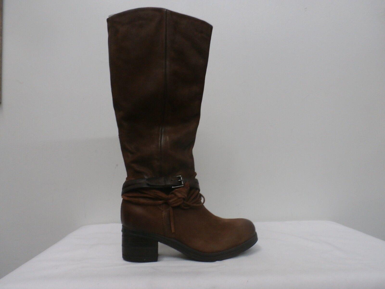 Miz Mooz Leather Tall Shaft stivali - Sugar Brandy 38(7.5-8)