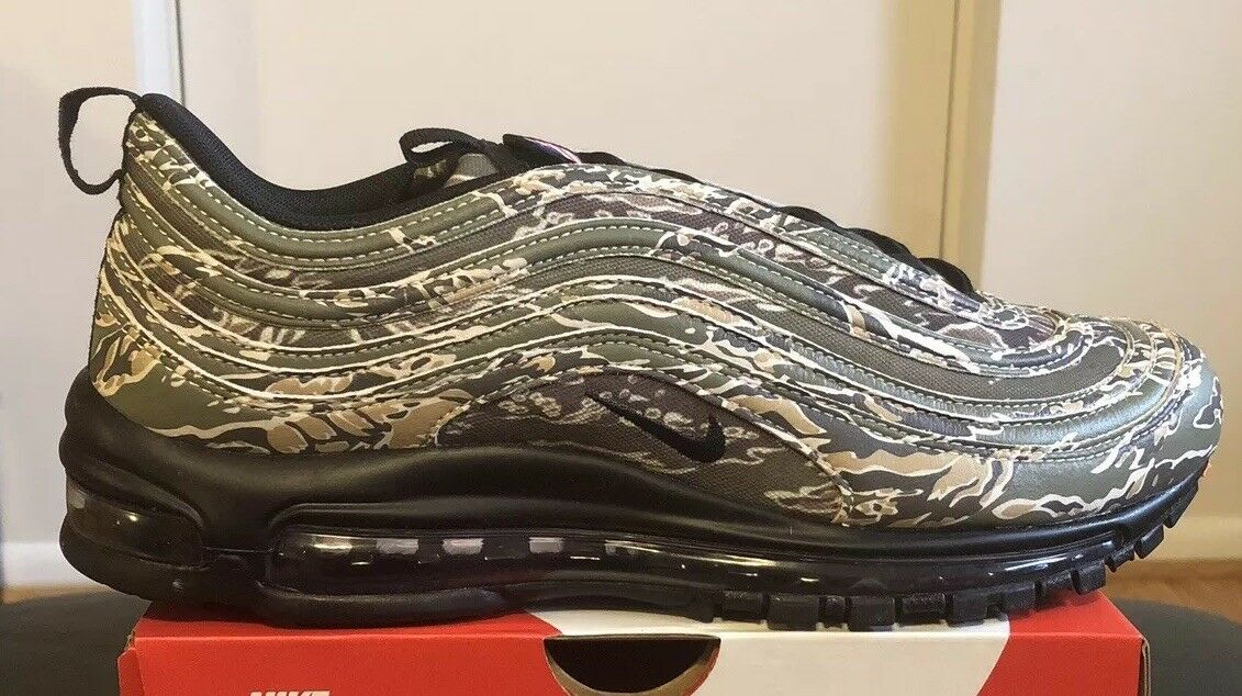 NIKE AIR MAX 97 COUNTRY CAMO   USA  INTERNATIONAL sz 11 AJ2614 205