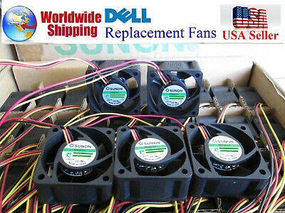 5x Fans Best for Home Networking M727K Quiet Dell PowerConnect 3548P Fan Kit