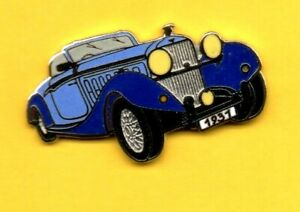 Pin-039-s-Pins-lapel-enamel-Pin-CAR-CARO-Auto-Rolls-Royce-convertible-1931-EGF