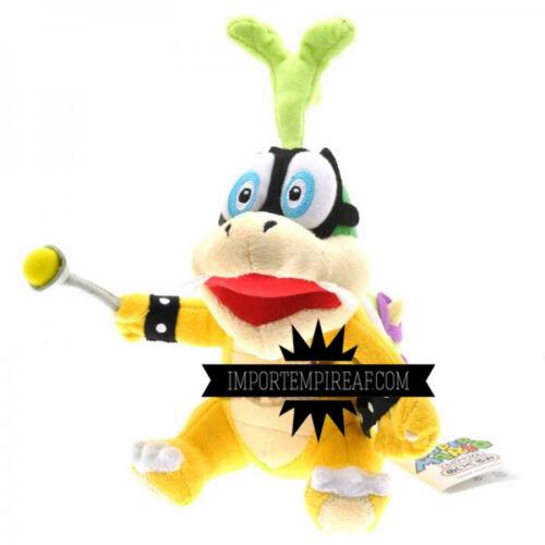 Super Mario Bros Iggy Koopa Plush Snowman Plush Koopaling Koopalings Bowser