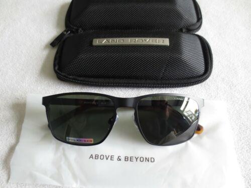 Land Rover black brown polarized sunglasses Runswick New with case.