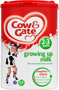 Cow & Gate Growing Up Milk 2-3 Years Powder Formula  800g - Will Ship Worldwide