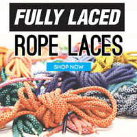 Fully Laced Rope Laces-ronnie Fieg Kith Shoelaces Asics Gel Lyte 3 Iii Ropelaces