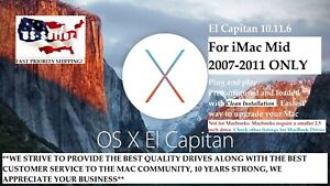 Hard-Drive-for-iMac-Mid-2007-2011-ONLY-500GB-Preloaded-with-El-Capitan-10-11