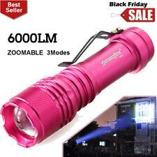 3 Modes Mini 6000LM Q5 LED Zoom Super Bright Flashlight Police Torch Lamp YY