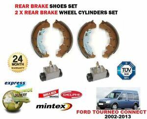 Pour Ford Fiesta 1.4 Zetec TDCi FREIN ARRIÈRE ROUE CYLINDRES PAIRE NOUVEAU LH RH