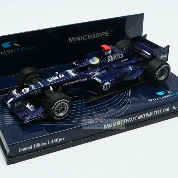 MINICHAMPS WILLIAMS FW27C NICO ROSBERG 400050110