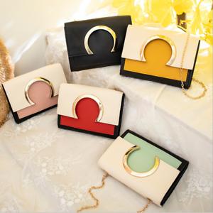 Women Shoulder Bag PU Leather Envelope Crossbody Messenger Handbag Purse Fashion