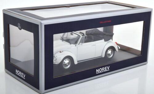 VW Escarabajo Beetle 1303 volkswagen cabriolet convertible blanco 1:18 norev nuevo 188524