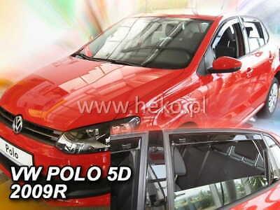 Wind deflectors for Volkswagen VW Polo GTI 5 6R 2009-2014 Hatchback 5doors rear