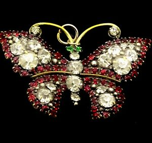 Antique-Butterfly-Paste-Pendant-Costume-Recycled-Phenomenal-Beauty-Circa1890s