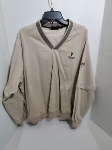 Mens-Large-Golf-Pull-Over-Jacket-Convertible-Long-Short-Sleeve-Ashworth-Outdoor