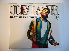 "OMAR : DON'T MEAN A THING (12"") [ FRENCH CD-MAXI PORT GRATUIT ]"