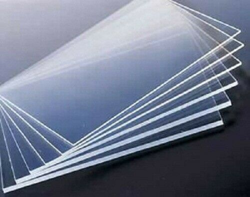 Clear Acrylic Perspex Glass Sheet Home Window Sheet Bespoke Cut To Any Size