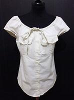 MOSCHINO CHEAP & CHIC Camicia Donna Cotone Cotton Woman Shirt Sz.M - 44