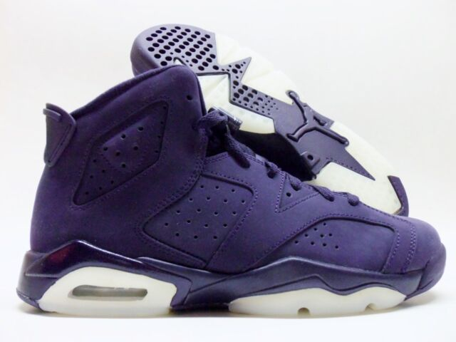 7c15388144070d NIKE AIR JORDAN 6 RETRO GG PURPLE DYNASTY SIZE 4Y WOMEN S 5.5  543390-