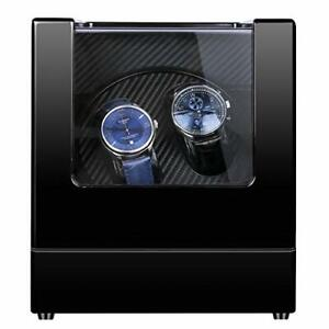 Kalawen Double Automatic Watch Winder, Mute Japanese Motor, Dual Watches