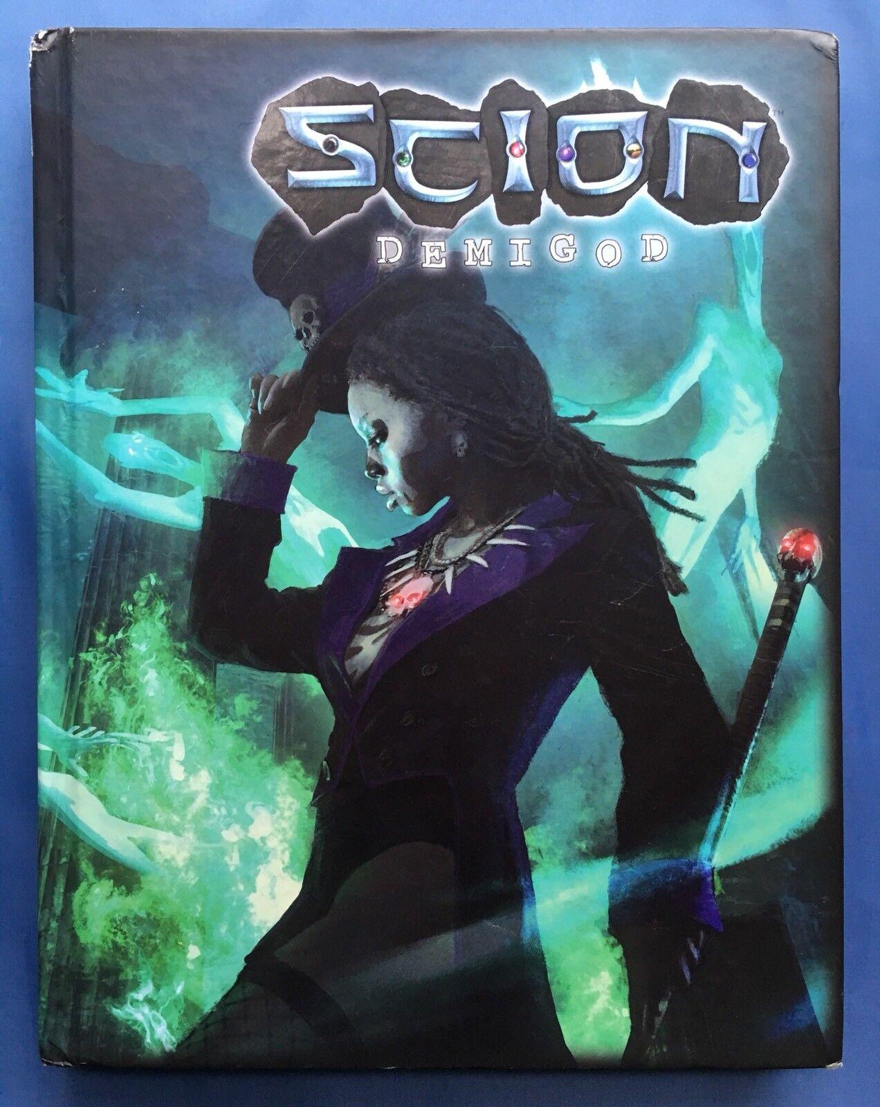 Scion Scion Scion Demigod RPG - Hardcover - White Wolf WW75001 e27ef5