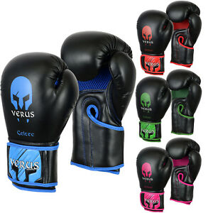 VERUS-Boxing-Training-Gloves-MMA-Sparring-Mitts-Cage-Fight-Muay-Thai-Martial-Art