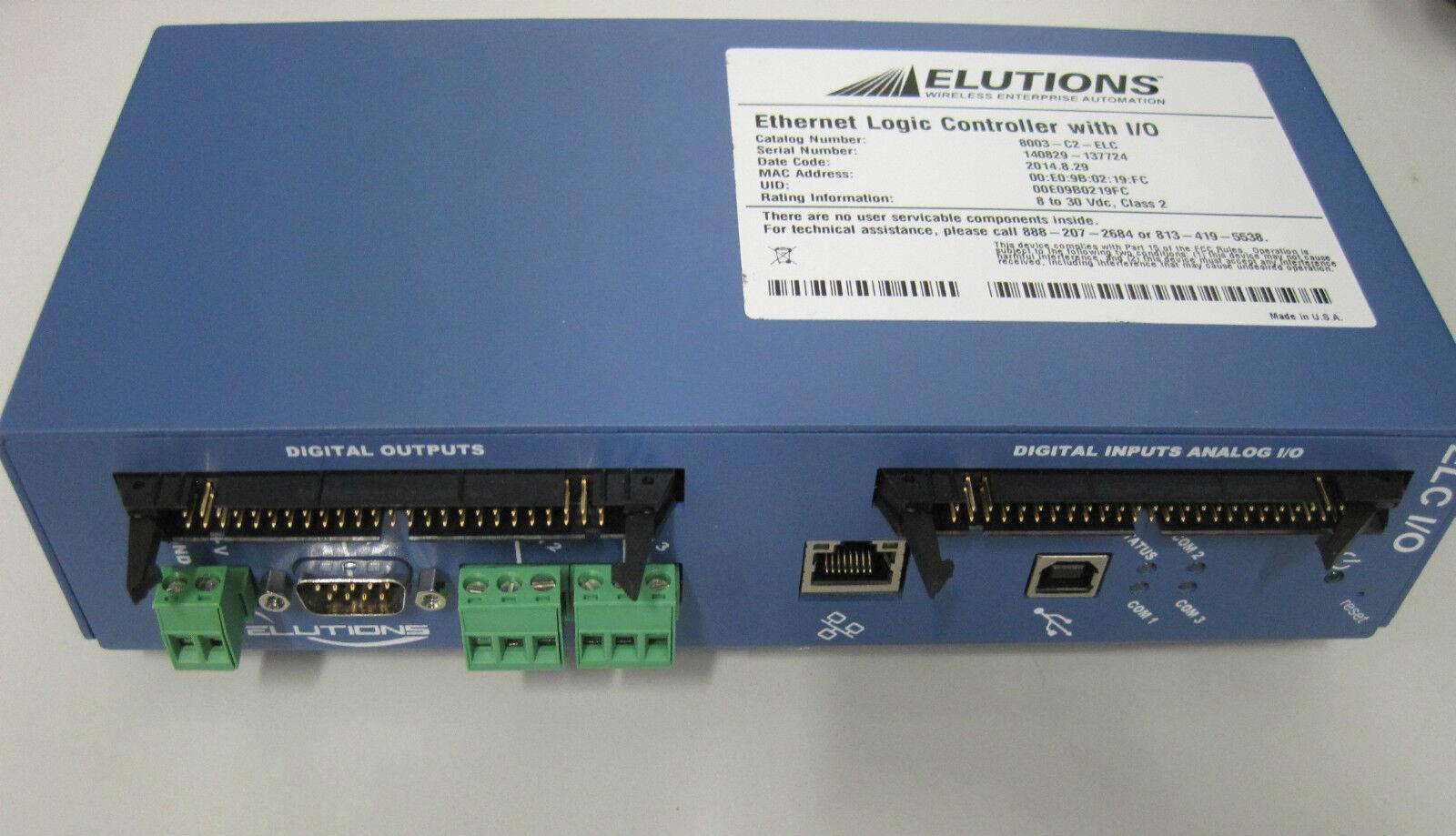Elutions Ethernet Logic Controller with I 0 ELC Modbus-RTU Steuerung NEU   NEW