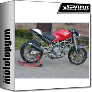 Spark Terminale Basso Omologato Round Carbonio Ducati Monster 900ie