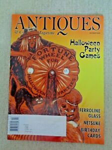 Antiques-amp-Collecting-Magazine-Oct-2010-Halloween-Party-Games-Netsuke-Ferroline