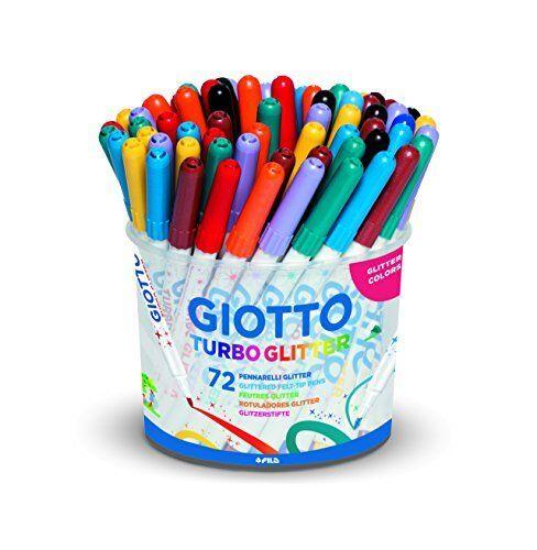 Pennarelli Glitter V7c Giotto 5168 00 Set per colorare