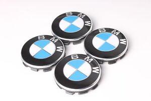 NEU-4x-Original-BMW-Nabendeckel-1er-3er-5er-6er-7er-X1-X3-X5-Z4-6783536