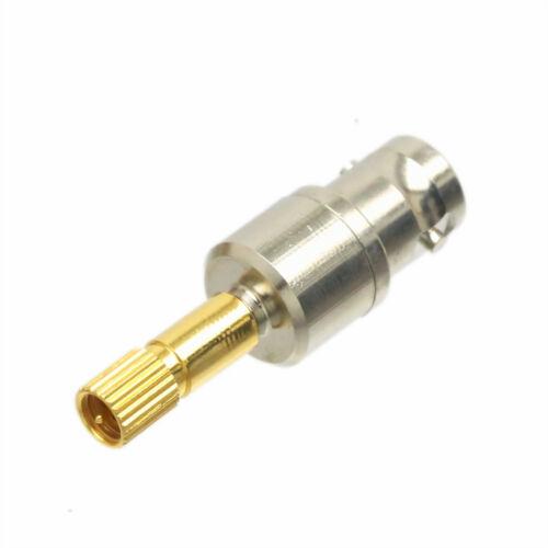 BNC jack ~ microdot plug Adapter Panametrics Krautkramer Ultrasonic FlawDetector